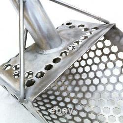 Sand Scoop Metal Detecting Hunting Tool Shovel MONSTRIK + Carbon Fiber Handle