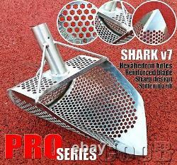 Sand Scoop Metal Detecting Hunting Tool Shovel SHARK v7 PRO Carbon Fiber Handle