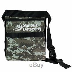 Serious Detecting Camo Bag with 42 Waist Belt, Special for Metal Detecting