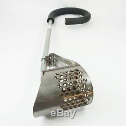 Slightly Used Super Sifter 50 Metal Detector Sand Beach Scoop with Foam Grip