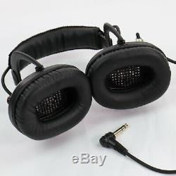 Sun Ray Pro Gold Metal Detector Headphones Angled Plug Compatible with CTX 3030