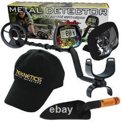 Teknetics Digitek Metal Detector with 7 Concentric Coil & Bonus Accessories