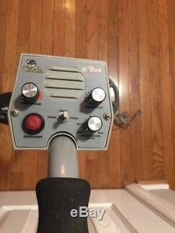 Tesoro Cibola Metal Detector, with 3 coils