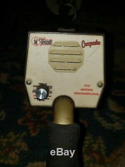 Tesoro Compadre Metal Detector 5.75 coil