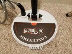 Tesoro Outlaw Metal Detector with 3 COILS and shafts BARELY USED