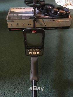 Used/Clean Minelab equinox 800 Metal Detector