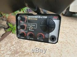 Used MINELAB /SOVEREIGN XS-2 PRO METAL DETECTOR WITH DIGITAL TARGET INDICATOR