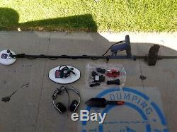 Used Minelab Gold Monster 1000 Metal Detector with accessories bundle