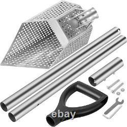 VEVOR Metal Detector Sand Scoop Metal Detecting Hunting Scoop with Steel Handle