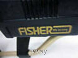 Vintage Fisher CZ-7a Pro Quick Silver Coin Gold Strike Beach Coil Metal Detector