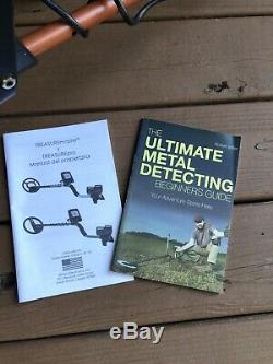 White's Electronics 8000346 TreasurePro Metal Detector with Accessories