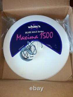 Whites Blue Max Series Maxima 1500 Metal Detector Coil 15 inch NIB