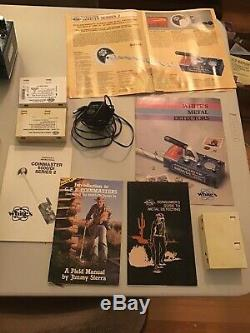 Whites Coinmaster 6000 Di Series 2 Metal Detector and Accessories (used)