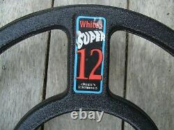 Whites Electronics Super 12 Metal Detector 12 Search Coil