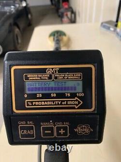 Whites GMT metal detector