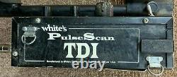 Whites Pulse Scan TDI Metal Detector with Extras