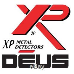 XP Deus 9.5 x 5 Elliptical DD HF Search Coil with Cover, Lower Shaft & Parts