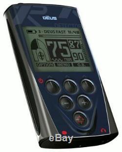 XP Deus Replacement LCD Telecommander Remote Control Back-lit Display D08
