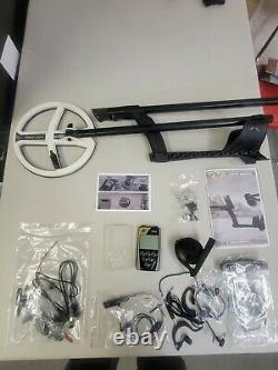 XP ORX Metal Detector With 9 HF Coil and accessories